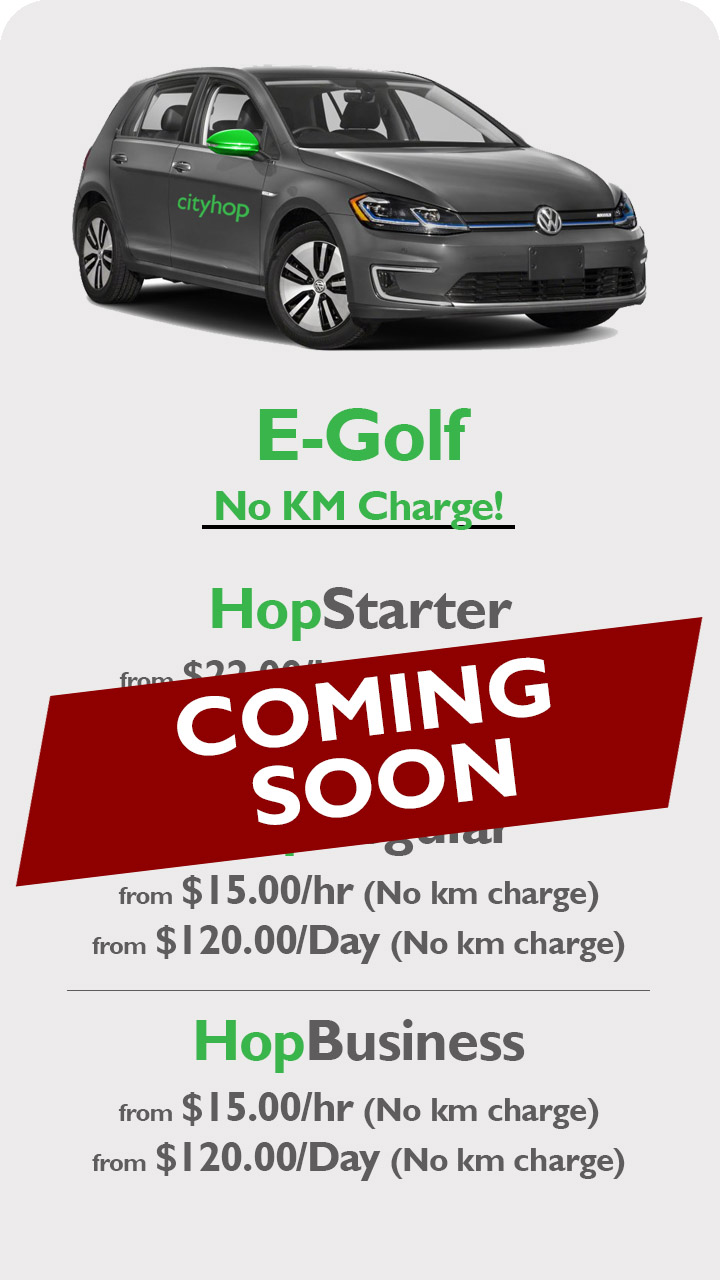 E-Golf - Coming Soon Apr19